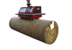 Magnetic battery lifter / round-bar
