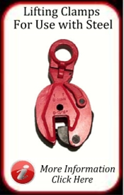 Lifting Clamps for use with Steel